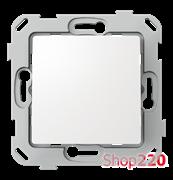 Кнопка одноклавишная, белый, PLK0411031 Plank Electrotechnic
