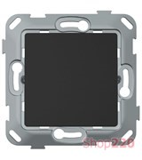 Кнопка одноклавишная, антрацит, PLK0411241 Plank Electrotechnic