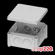 Распределительная коробка 100 х 100 х 50 мм, IB006 Plank PLK6506650