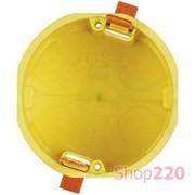 Коробка установочная для гипсокартона, 2 модуля, BTicino PB502