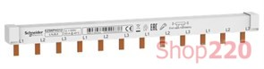 Гребенка трехфазная для автоматов, 12 модулей, EZ9XPH312 Schneider Electric