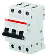 Автомат 10А, 3 полюса, тип C, S203-C10 ABB 2CDS253001R0104