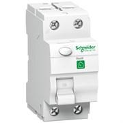УЗО 63А, 30мА, 2 полюса, Resi9 R9R11263 Schneider Electric