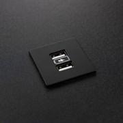 Розетка USB в стол и мебель, черный, Versapick ASA 060.29Z.00013