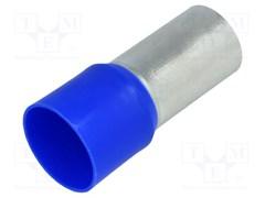 Наконечник-гильза 120 мм кв, синий, bm00521