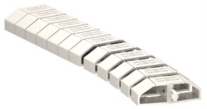 Гибкий кабель-канал для проводов, светло-серый, OBO Bettermann 6154922