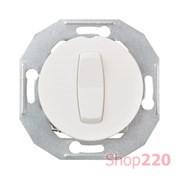 Кнопка, белый, Renova WDE011002 Schneider