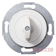 Выключатель проходной поворотный, белый, Renova WDE011068 Schneider