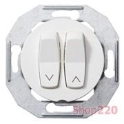 Выключатель жалюзи, белый, Renova WDE011054 Schneider