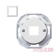 Корпус компьютерной розетки, белый, Renova WDE011700 Schneider