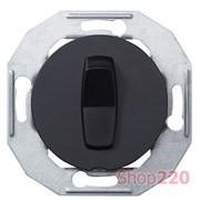 Кнопка, черный, Renova WDE011202 Schneider