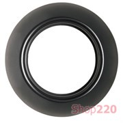 Рамка 1 пост, черный, Renova WDE011420 Schneider