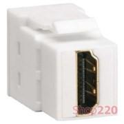 Разъем HDMI типа KeyStone, VZ20HS Hager