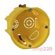 Коробка монтажная (подрозетник) под гипсокартон, IMT35150 Schneider