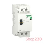 Контактор 40А, 2 полюса, Resi9 R9C20240 Schneider Electric