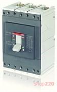 Автоматический выключатель 400А, FormulA A3N 400 TMF 400-4000 3p F F, ABB 1SDA066561R1