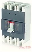 Автоматический выключатель 250А, FormulA A2B 250 TMF 250-2500 3p F F, ABB 1SDA066553R1