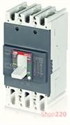 Автоматический выключатель 80А, FormulA A1B 125 TMF 80-800 3p F F, ABB 1SDA066705R1