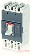 Автоматический выключатель 80А, FormulA A1A 125 TMF 80-800 3p F F, ABB 1SDA066518R1