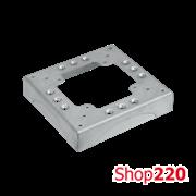 Основа для ввода напольного короба 4x85/18, Simon KTA804/8