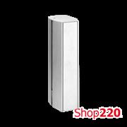 Колонна на 6 розеток K45, двухсторонняя, алюминий, Simon ALK726/8