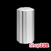 Колонна на 6 розеток K45, четырехсторонняя, алюминий, Simon ALK546/8