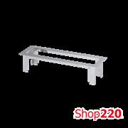Рамка Ofiblock LINE для врезки в стол блока KFC104 на 4 (5) розетки, Simon KSF134/8