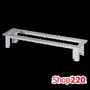 Рамка Ofiblock LINE для врезки в стол блока KFC106 на 6 (7) розетки, Simon KSF136/8