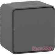 Кнопка накладная IP55, черный, Mureva Styl Schneider MUR35026
