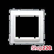 Адаптер под установку розеток в формате 45х45 мм, белый, Basic Simon