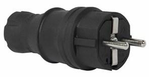 Вилка каучуковая 16А e.plug.rubber.028.16 Enext s9100023