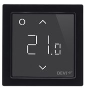 Терморегулятор Devireg Smart с Wi-Fi, черный, 140F1143 Devi