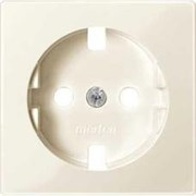 Накладка электрической розетки, бежевый, Merten MTN2331-0344
